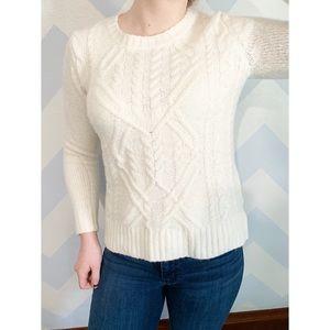 Olivia Sky white sweater